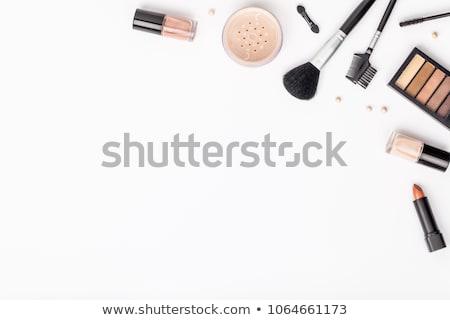 Profi smink szerszámok smink szépségipari termékek jelenet Stock fotó © neirfy