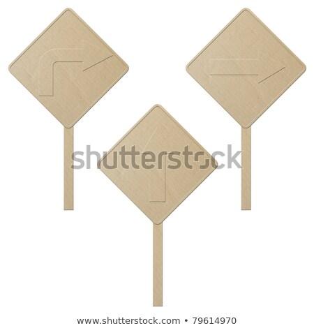 cartão · navegação · branco · direção · indicador - foto stock © inxti