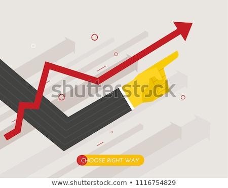 Business growth concept banner header. Stock photo © RAStudio
