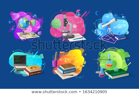 Chemistry Geography, Coding Discipline in School Stock photo © robuart
