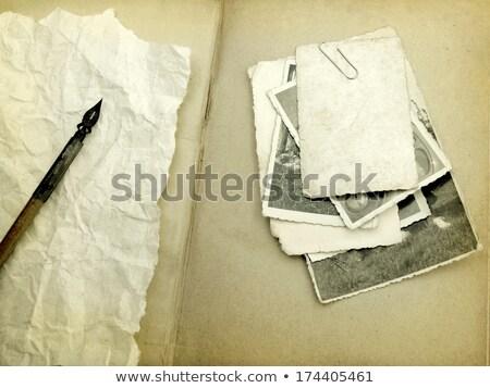 Vuota foto fotogrammi vecchio stile immediato Foto d'archivio © make