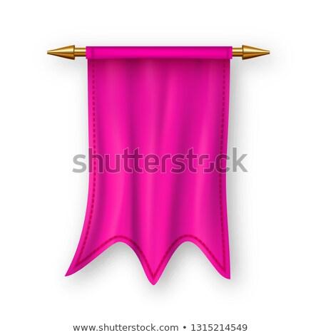 Rose pavillon vecteur concurrence élément victoire Photo stock © pikepicture