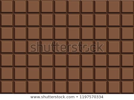 vector seamless chocolate bar background stock photo © freesoulproduction