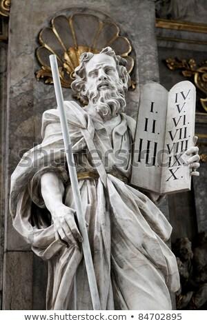 Tables Of The Covenant Ten Commandments Of Moses Zdjęcia stock © jorisvo