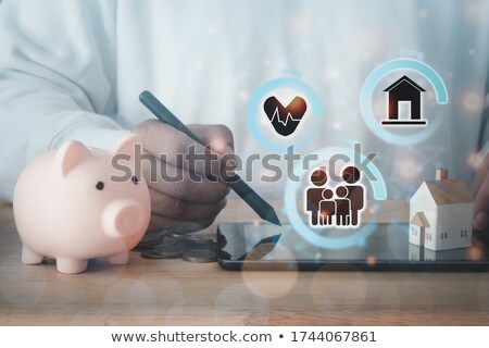 Human Hand Drawing Retirement Plan Growth Concept Stock photo © AndreyPopov