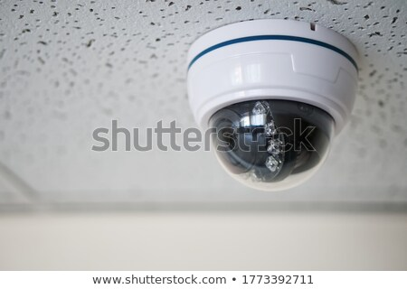 Overhead surveillance camera suspended on ceiling Stock photo © Giulio_Fornasar