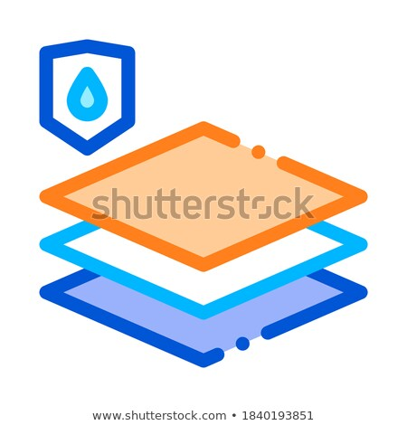 Waterproof Material Limoleum Floor Vector Icon Stock photo © pikepicture