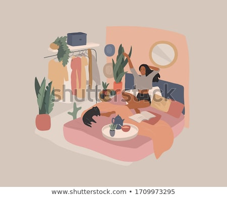 Bed and breakfast concept vector illustration Stock photo © RAStudio