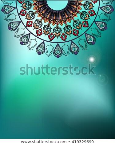 Design Himmel Illustration Kunst blau Farbe Stock foto © bluering