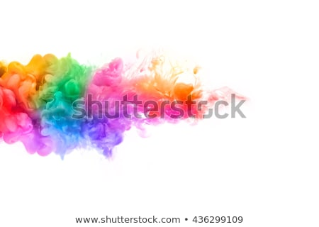 Abstract Rainbow fumo colorato design luce Foto d'archivio © cidepix
