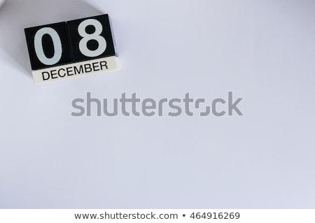 Cubes 8th December Stock photo © Oakozhan