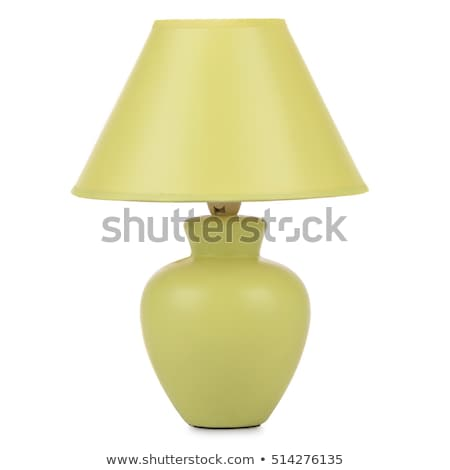 Table lamp isolated on white background Stock photo © Lopolo