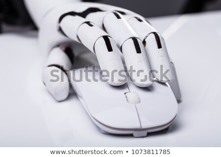 AI Robot Hand With Computer Mouse Stock photo © AndreyPopov