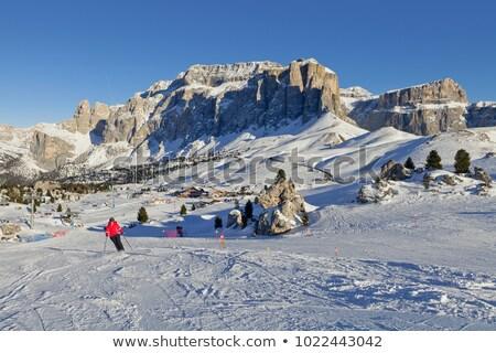Sassolungo - Langkofel, Italian Dolomites Stock photo © Antonio-S