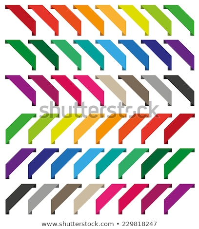 corner ribbon for items with sale stock photo © orson
