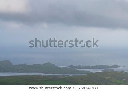 tête · péninsule · faible · niveau · nuages · plage - photo stock © igabriela