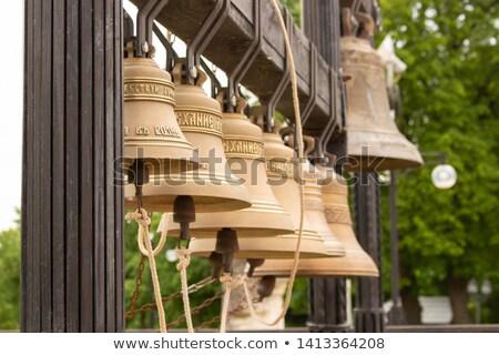 harang · torony · küldetés · égbolt · épület · kereszt - stock fotó © alrisha
