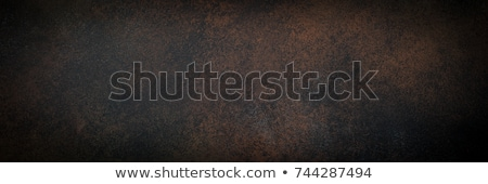Paslı altın şerit duvar soyut Metal Stok fotoğraf © premiere