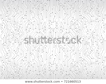 Foto d'archivio: Vector Abstract Circuit Board Background