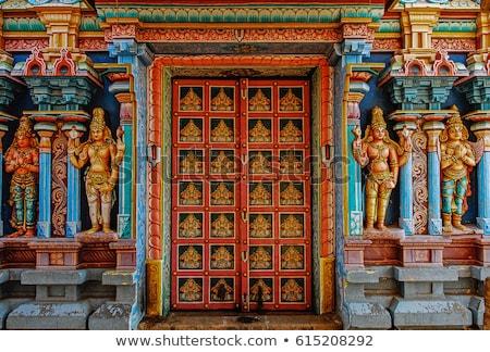 Hindu temple entrance Stock photo © smithore