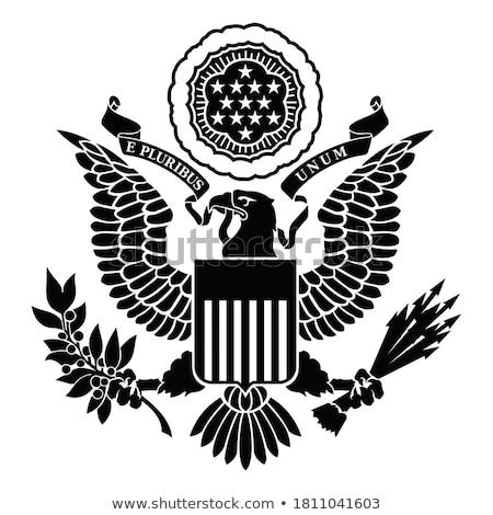 американский печать конкретные стены Сток-фото © lorenzodelacosta