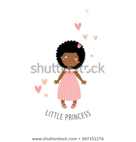 African-American baby postcard. Stock photo © Bytedust