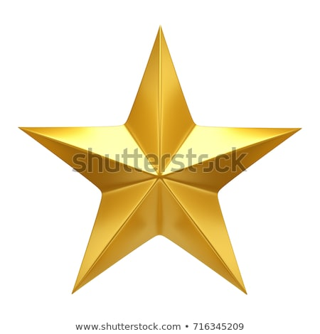 Golden star stock photo © gant