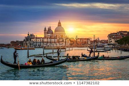 Veneziano tramonto Venezia acqua panorama architettura Foto d'archivio © RazvanPhotography