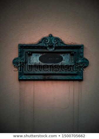 古代 メールボックス 孤立した 古い スロット 人間 ストックフォト © Kacpura