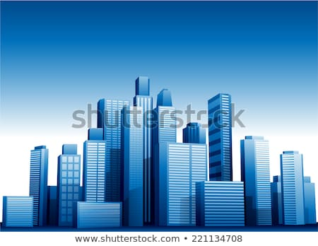 crystal skyscraper stock photo © artida