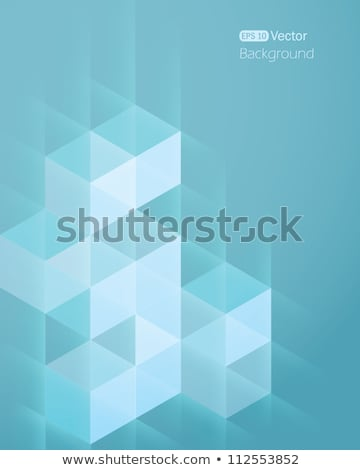 abstract background with two waves stock photo © elmiko