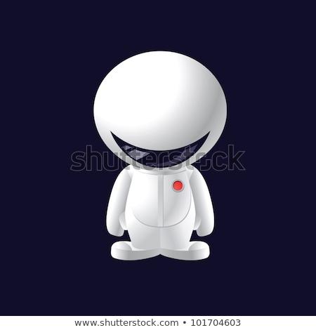 little smile astronaut stock photo © sigur