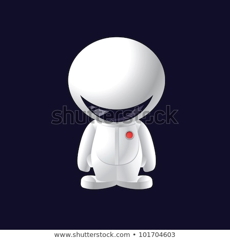 мало · улыбка · астронавт · дизайна · человека - Сток-фото © sigur