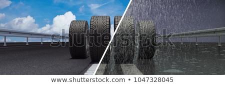 Rain Tire Stock photo © Stocksnapper