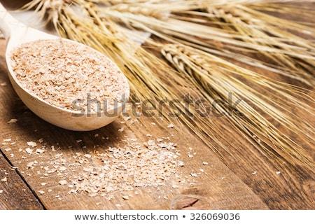 yulaf · diyet · ürünleri · beyaz · gıda - stok fotoğraf © oksix