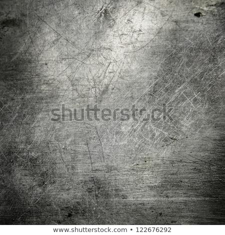 közelkép · rozsda · textúra · fém · tányér · építkezés - stock fotó © taigi