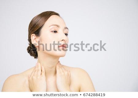 garganta · inflamada · anatomia · médico · ilustração · 3D · prestados - foto stock © photography33