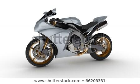 Prototype moto on white background Stock photo © ozaiachin