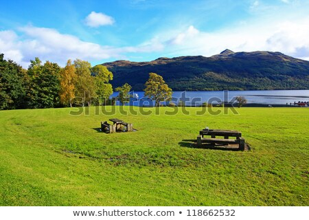 Loch Lomond in October, Scotland, UK Stock photo © Julietphotography