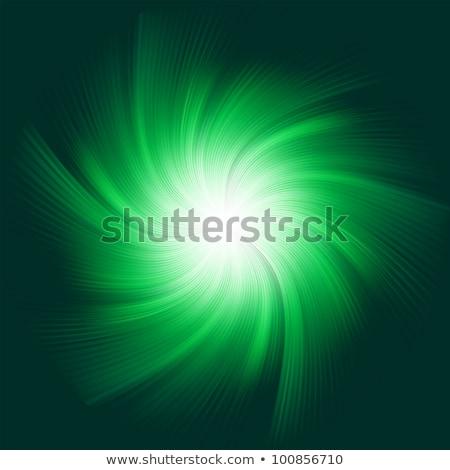 absztrakt · hullámos · kék · sugarak · illusztráció · háttér - stock fotó © beholdereye