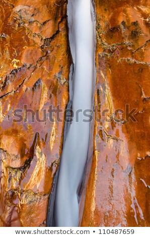 rápido · córrego · Utah · montanhas · paisagem - foto stock © jaymudaliar