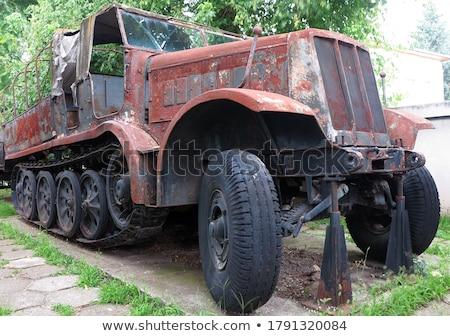 russian tank t 34 from world war ii stock photo © pzaxe
