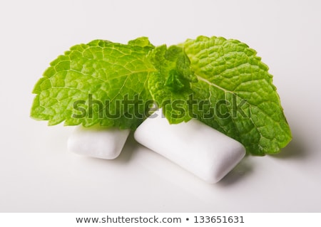 Bunch of white gums Stock photo © Stootsy