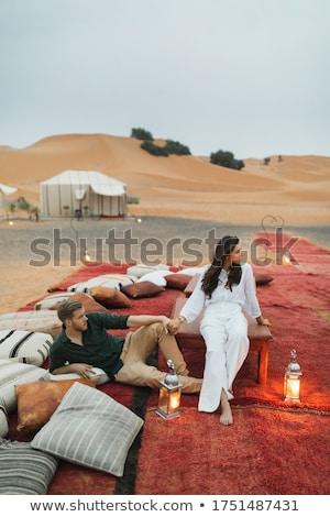 çift adam yaz tatil aşıklar dostluk Stok fotoğraf © photography33
