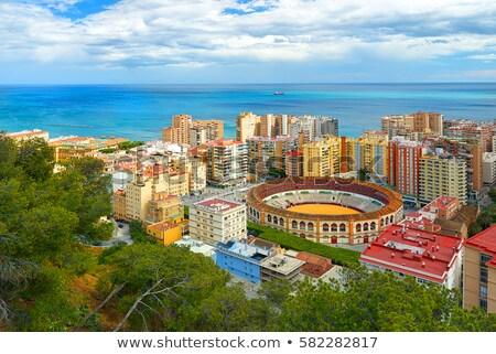 малага Испания начало архитектура башни Сток-фото © CaptureLight