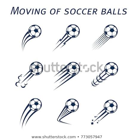 Flying Soccer Balls Stock photo © Lightsource