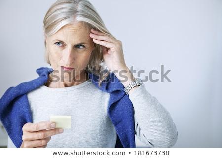 Humaine perte de mémoire démence maladie d'alzheimer médicaux icône Photo stock © Lightsource