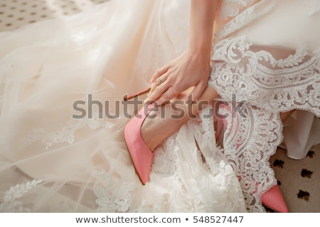 Brides Shoes Stock photo © KMWPhotography