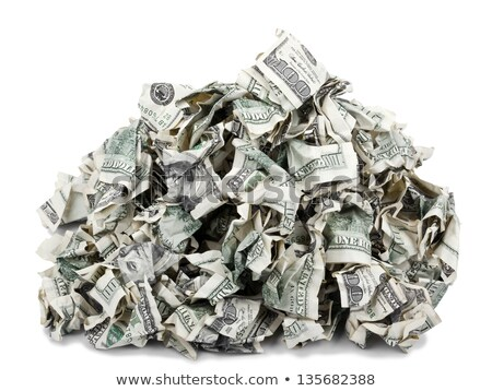 Consumerism - Crimped 100$ Bills Stock photo © eldadcarin