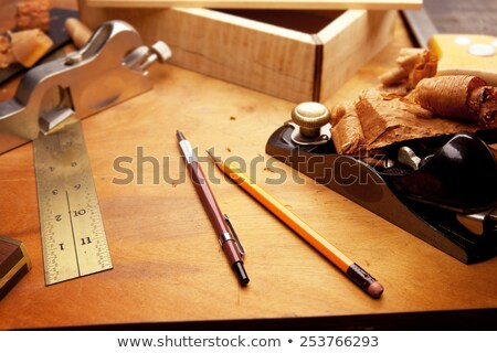 Jointing plane on workbench Stock photo © sdenness
